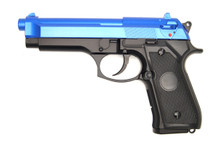 Y&P GG 104B M92 Replica Gas Powered Pistol in Blue