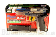 Sig Sauer SP2022 Clear Gas powered bb gun