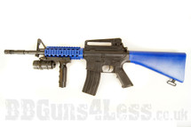 M16 B 103 rifle bb gun spring powerd