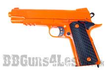 BL G14 Full scale pistol in Full Metal in orange