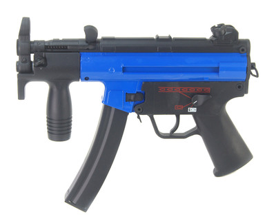 Galaxy G5K Electric Rifle with hi cap magazine in Blue  (new colour)