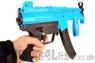Galaxy G5K Electric Rifle with hi cap magazine in Blue