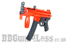 Galaxy G5K Electric Rifle with  hi cap magazine in Red