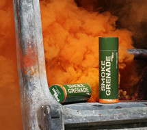 Enola Gaye Large Orange Smoke Grenade