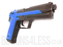 HFC HGC-306 Gas powered BB gun pistol in blue