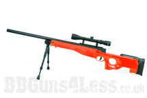 Well MB01 Sniper Rifle with Scope & Bipod in Orange