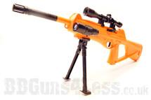 Yika 188 Cx4 Storm replica bb gun with bipod in Orange