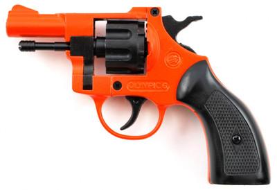 BRUNI Blank firing OLYMPIC 6 in orange full metal