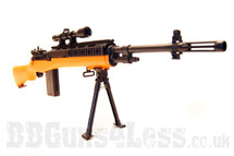 YIKA YK14 M14 replica Sniper rifle BB gun in orange