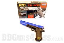 Yika yk45b Spring pistol in blue