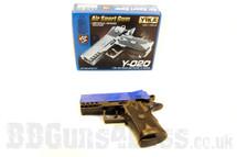 Yika Y 020 Spring pistol in blue