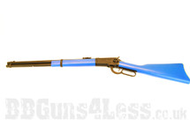 A&K M1892 Winchester Gas Powered Shotgun in Blue