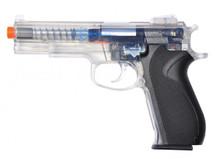Firepower 45 Spring BB Pistol in Clear