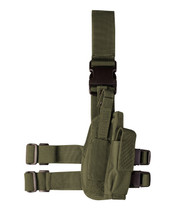 Kombat US Tactical leg holster in olive green