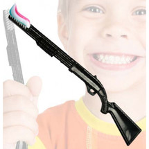 Gun Toothbrush in black