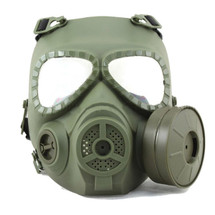Airsoft Gas mask face mack in green