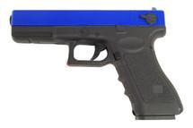 cyma cm030 blue electric airsoft pistol