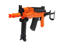 Golden Eagle AK47B Two Tone Electric Rifle with Bipod in Orange/Black