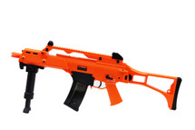 Golden Eagle G36 Two Tone Electric Rifle with Bipod in Orange/Black