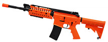 Golden Eagle M4SS Two Tone Electric Rifle in Orange/Black