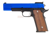 A&K M945 Blow back pistol in Blue