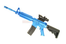 Vigor 8908A Super fire Spring power Rifle with red dot Scope in Blue