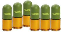 ICS 40mm Plastic Grenade 7o Round (6 Shell)