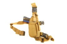 Drop tactical leg holster in tan