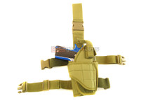 Drop tactical leg holster in olive