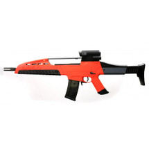 SRC XR8 Two Tone Electric Rifle in  orange