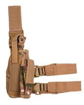 kombat US Tactical leg holster in UTP