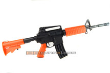 SRC M4A A OG Dragon electric airsoft rifle in orange/black