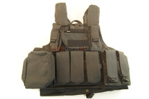 SIVIMEN Plate Carrier tactical vest in black