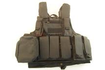 SIVIMEN Plate Carrier tactical vest in black