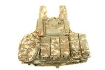 Silvimen Plate Carrier tactical vest in marpat