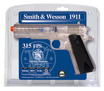 Smith & Wesson 1911 with sticking target