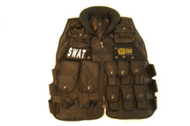 Well Fire Tactical SWAT Vest in black