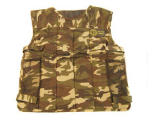 Well Fire Tactical Vest with padding in dpm camo