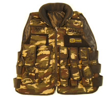 Well Fire Combat Tactical Vest with valcro pockets in DPM