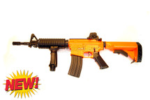 well d4817 electric rifle in orange