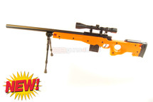 Well MB4401 Spiring Sniper Rifle with scope & bipod in orange (new)