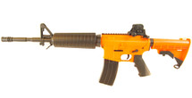 Well D4806 M16 fully auto Airsoft gun in orange