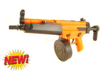 Well D95 Electric drum mag BB Gun in orange