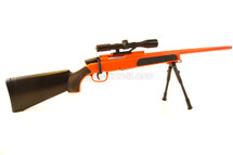 Cyma ZM51 bolt action sniper rifle with scope & bipod in Orange