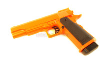 Cyma ZM05 M1911 replica BB Pistol Gun in orange