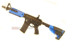 CAA M4 Electric Airsoft Rifle in blue