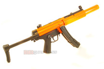 Well HK MP5 SD5 BB Gun with adjustable stock in orange