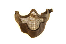 Iron Face Lower Mesh Airsoft Mask Lower Face and Ears Protection