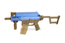 ARES Amoeba CCR M4 Airsoft Electric Rifle in Blue