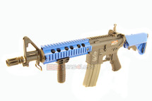 ARES M4 CQB Airsoft Gun in Two Tone Blue